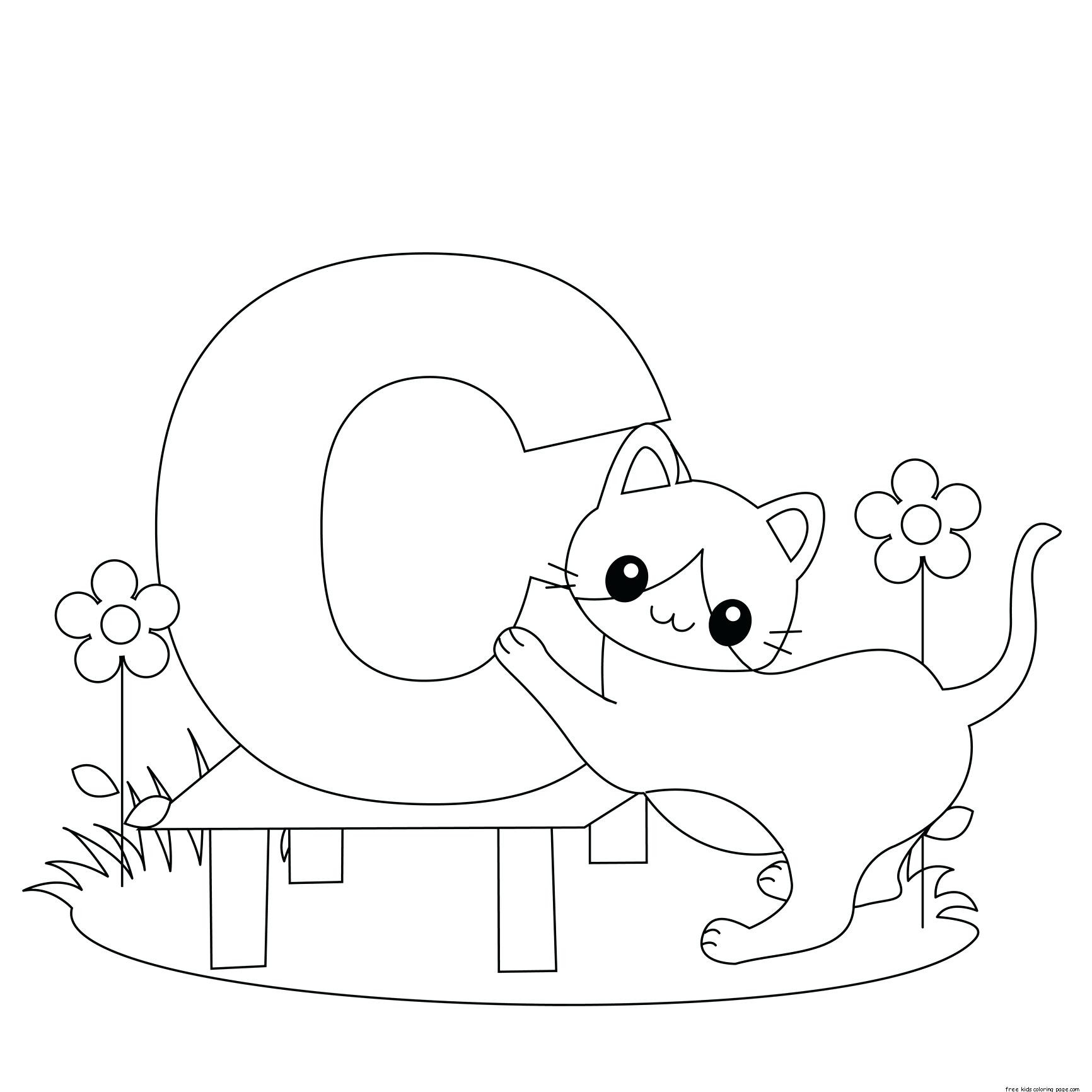 Coloring Pages : Alphabet Coloring Pages For Toddlers within Alphabet Coloring Worksheets For Kindergarten