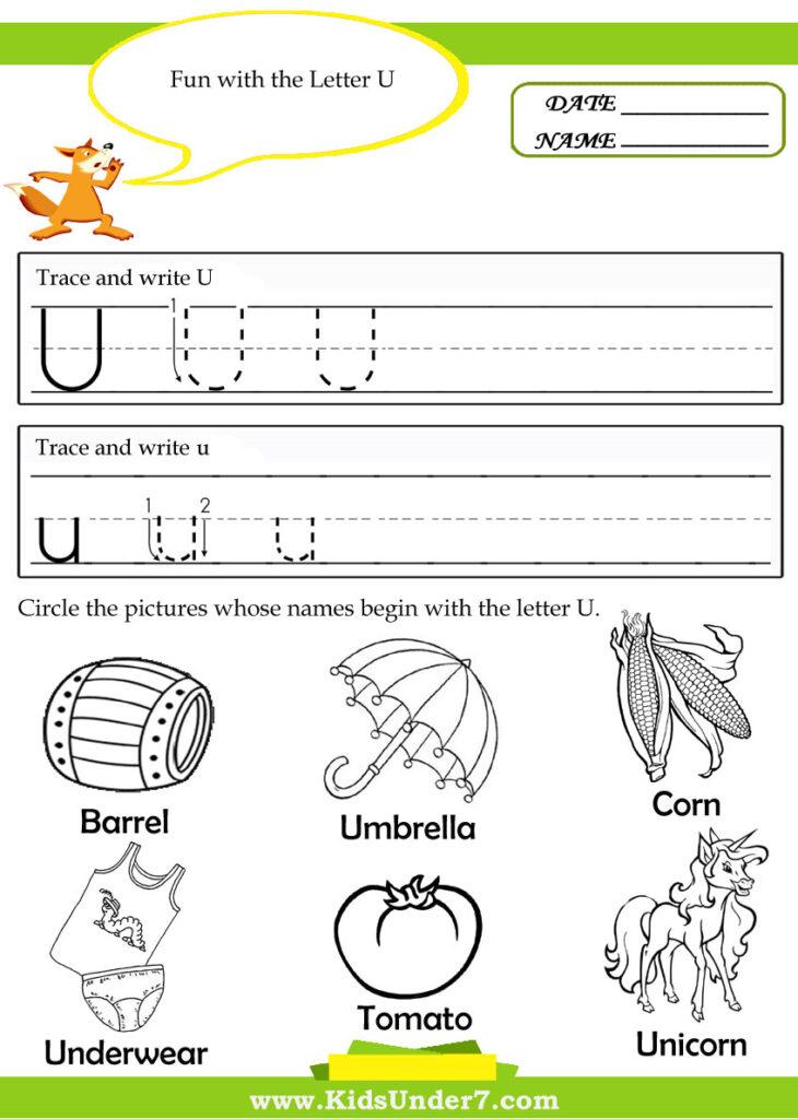 Common Worksheets Letter U Worksheets Preschool Preschool Inside Letter T Worksheets Sparklebox