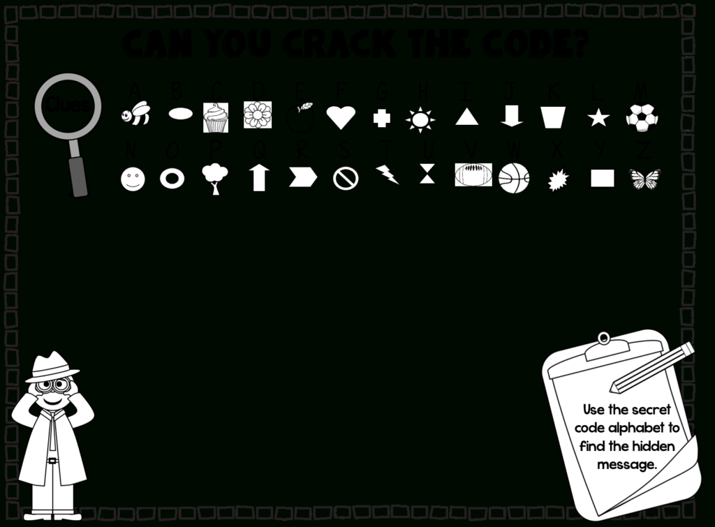 Create Your Own Secret Code! | Secret Code, Coding For Kids Within Alphabet Code Worksheets