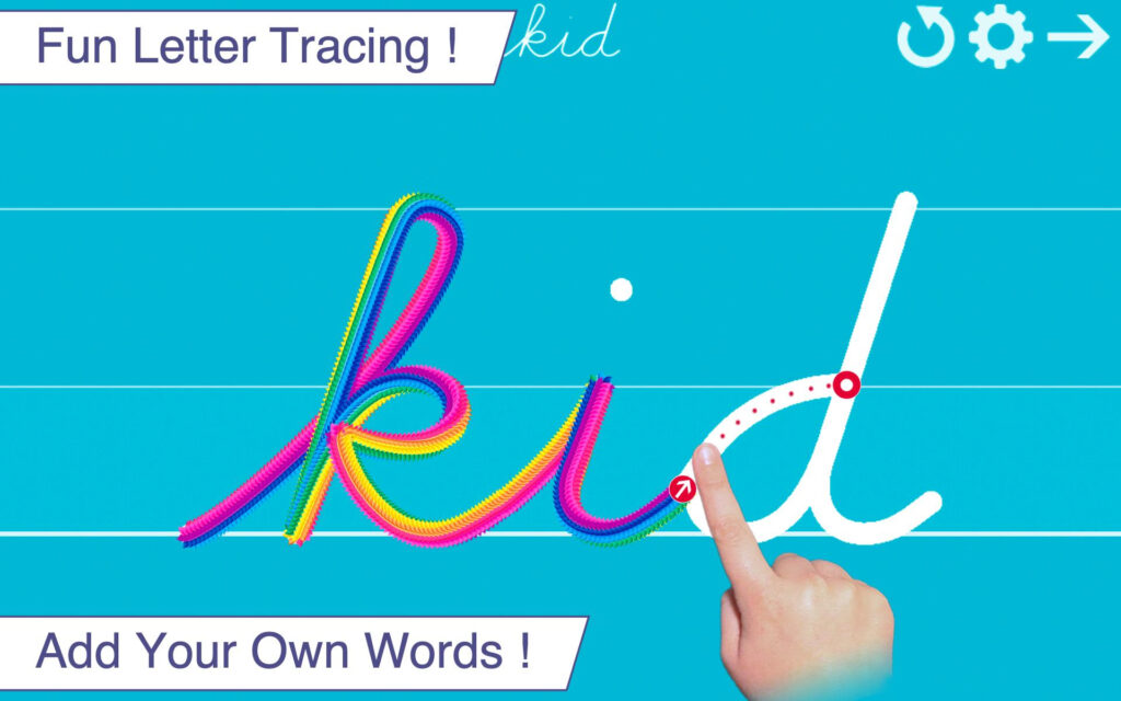 Cursive Writing Wizard For Android   Apk Download With Regard To Name Tracing App Cursive
