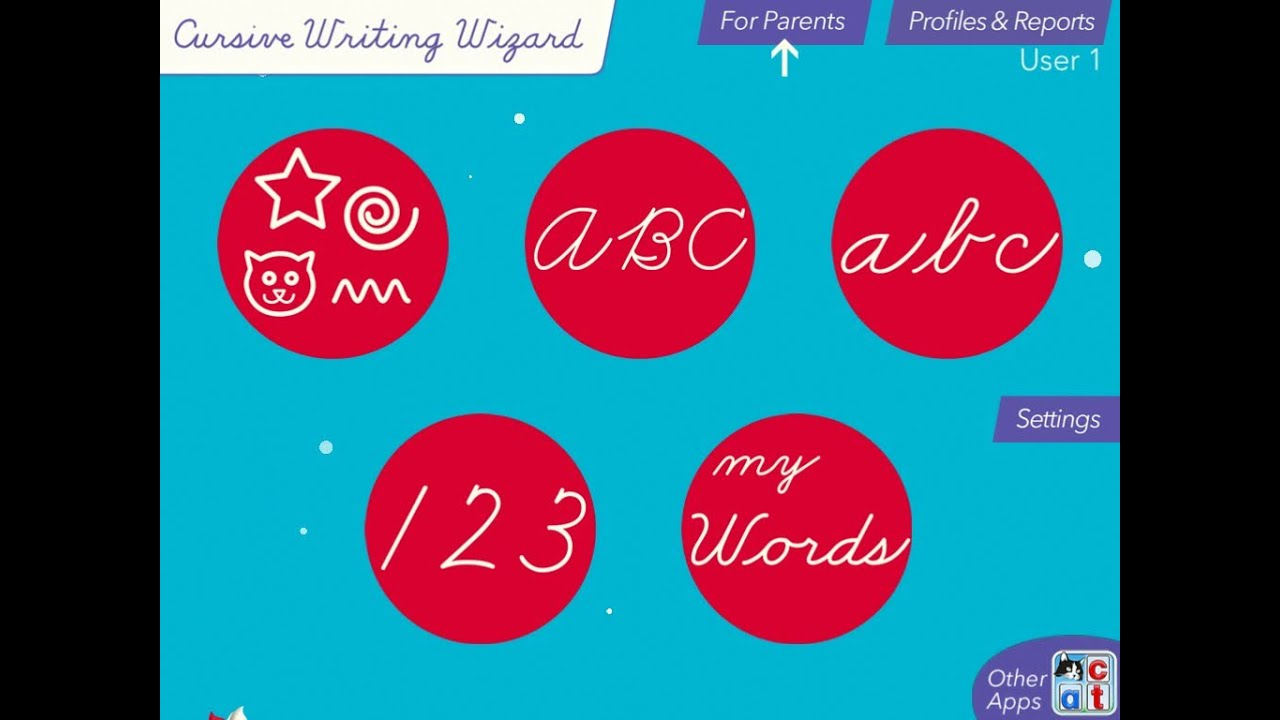 Cursive Writing Wizard - Trace Letters And Words intended for Name Tracing Writing Wizard