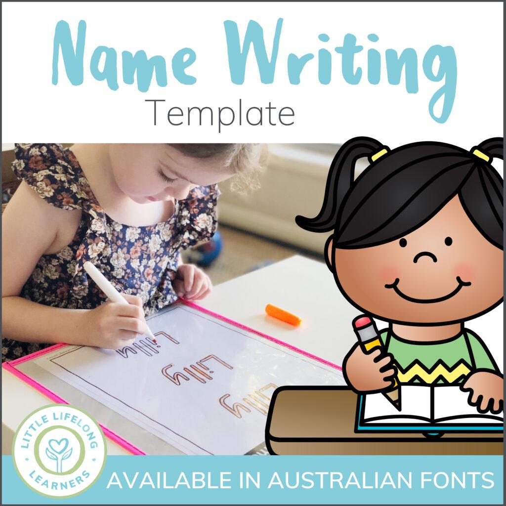 Custom Name Writing Printable Regarding Name Tracing Template Qld Font