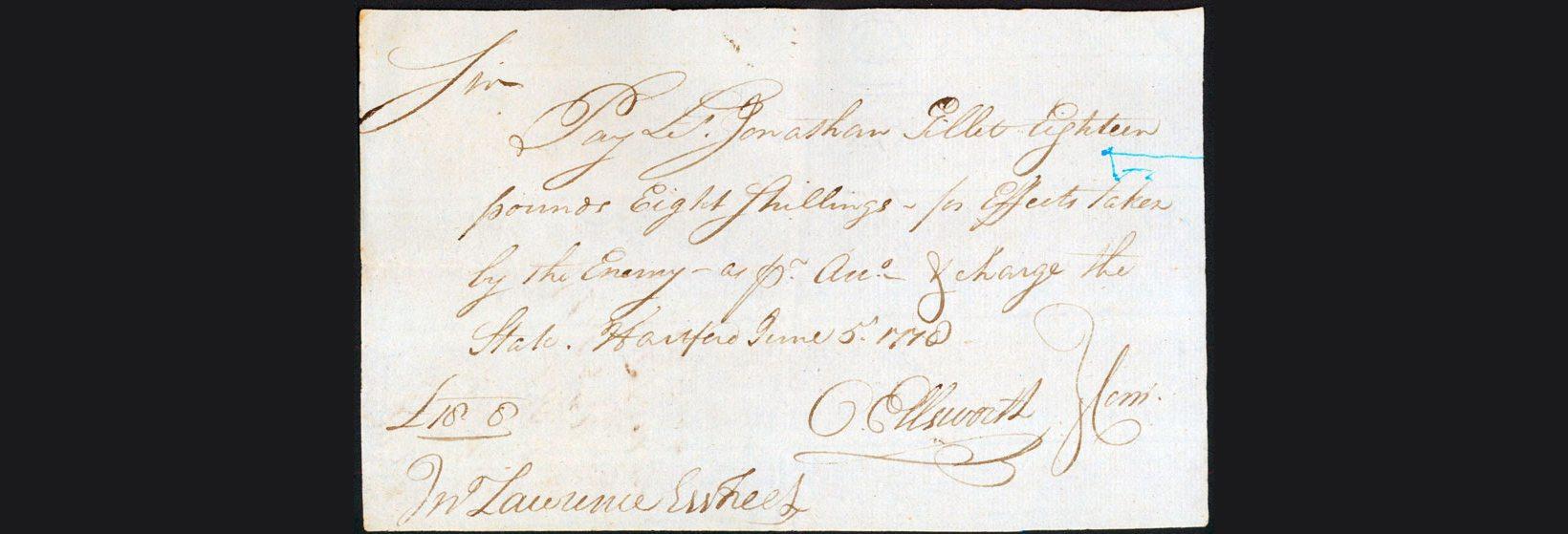 Documents: Tracing Capt. Jonathan Gillet (1720-1786 regarding Jonathan Name Tracing
