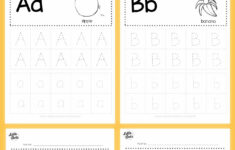 Pre K Alphabet Review Worksheets