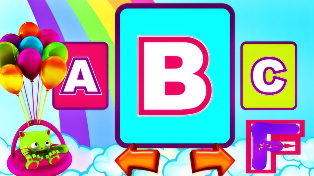 Edukitty Abc   Learn Alphabet | Amazing Game For Learning Abc | Letter  Tracing For Children | Video Within Letter Tracing Video