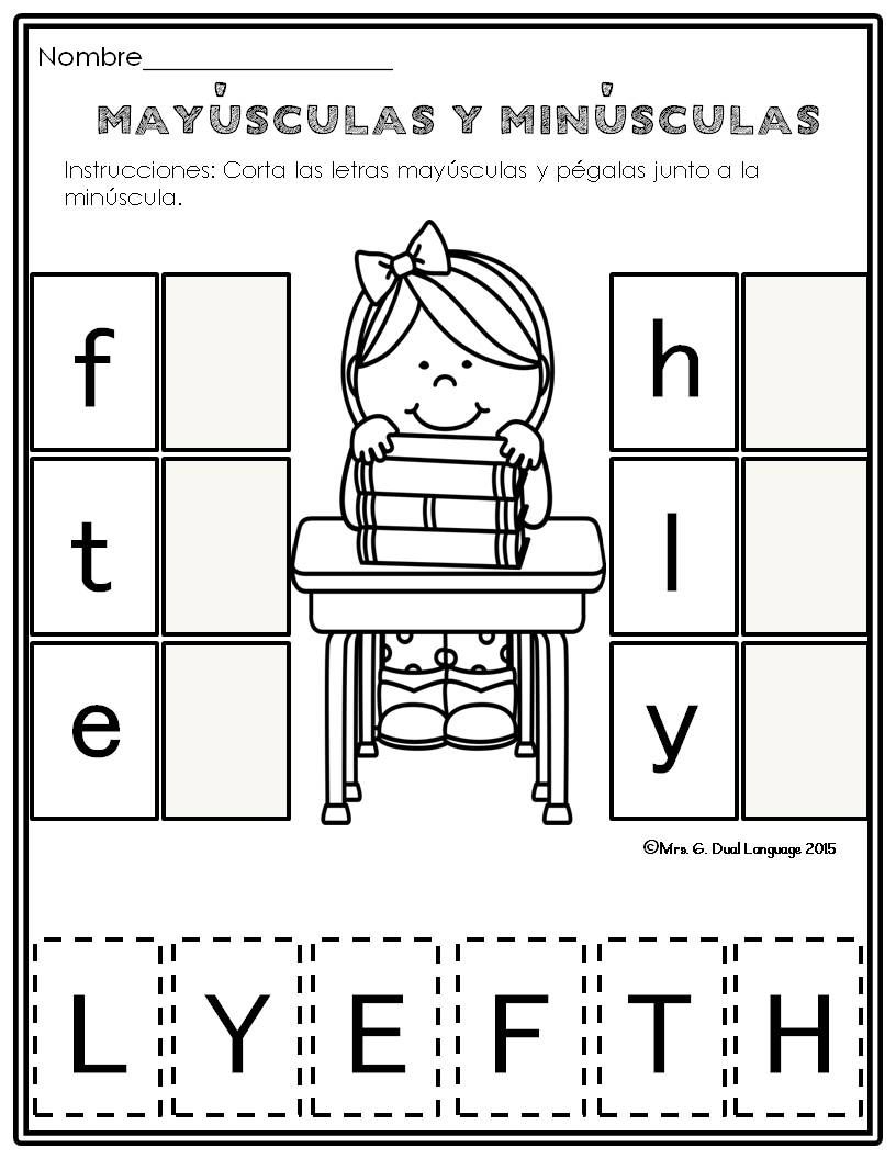 El Alfabeto Alphabet Practice Pages In Spanish | Alphabet throughout Alphabet Worksheets In Spanish