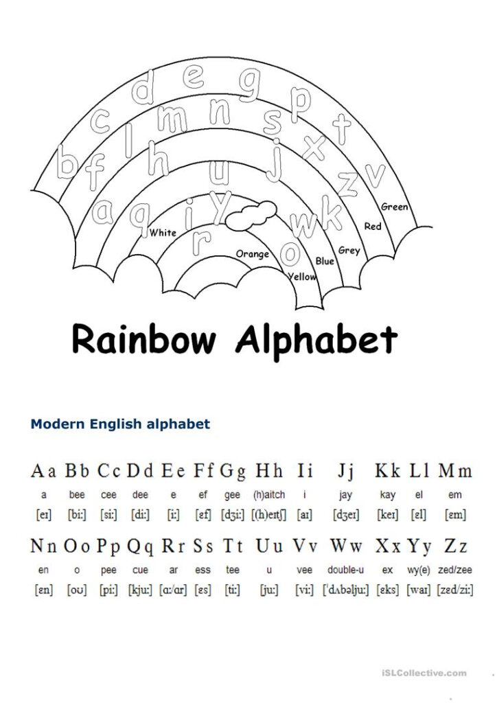 English Alphabet   English Esl Worksheets For Distance Intended For Alphabet Exercise Worksheets