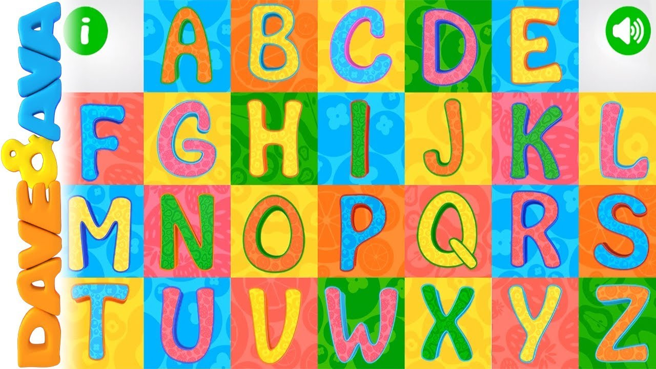 ? Learn Abc & Tracing | Phonics For Kids From Dave And Ava ? within Abc Tracing Video