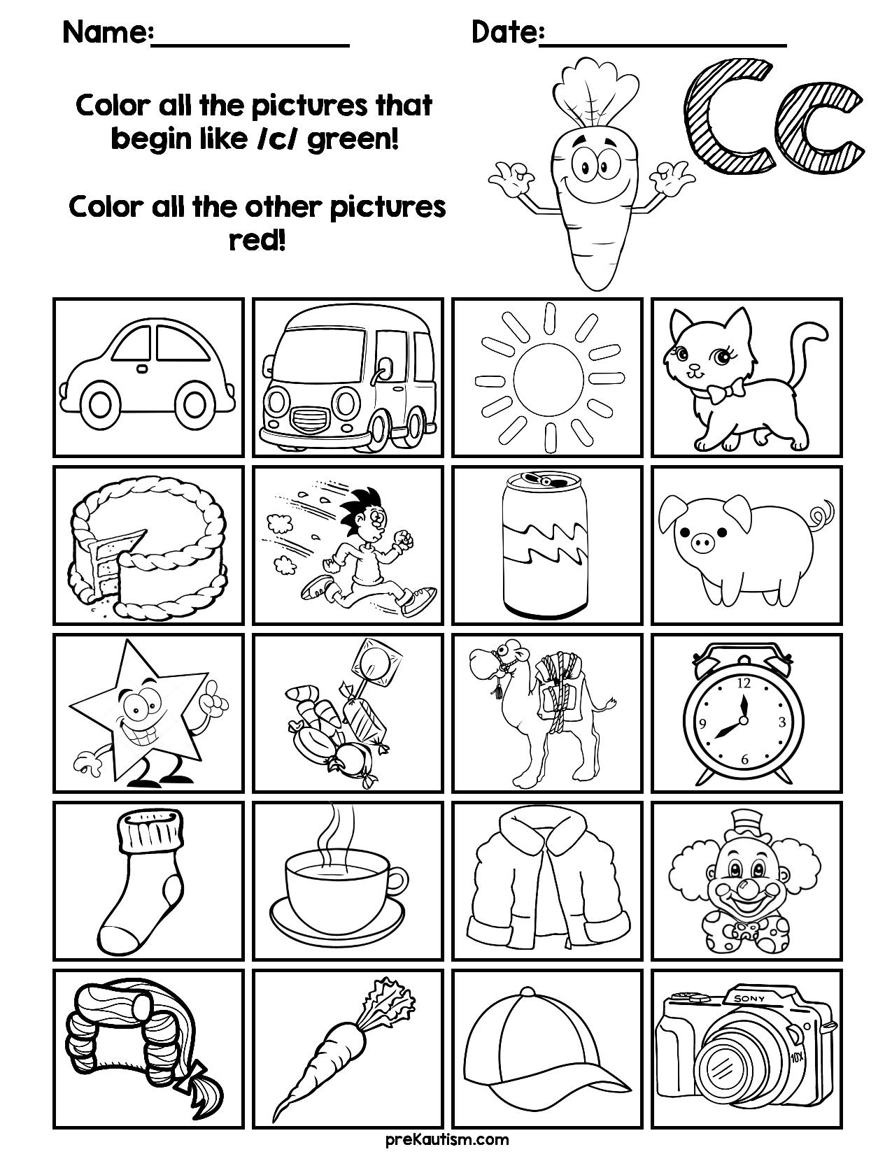 Find & Color Consonants Worksheets | Grade R Worksheets in Letter J Worksheets For Grade 1
