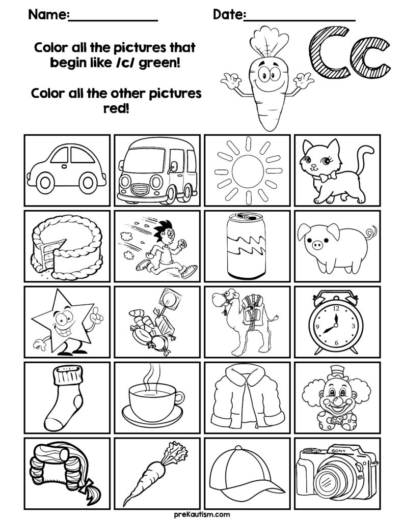 Find & Color Consonants Worksheets | Grade R Worksheets Pertaining To Letter Y Worksheets For First Grade