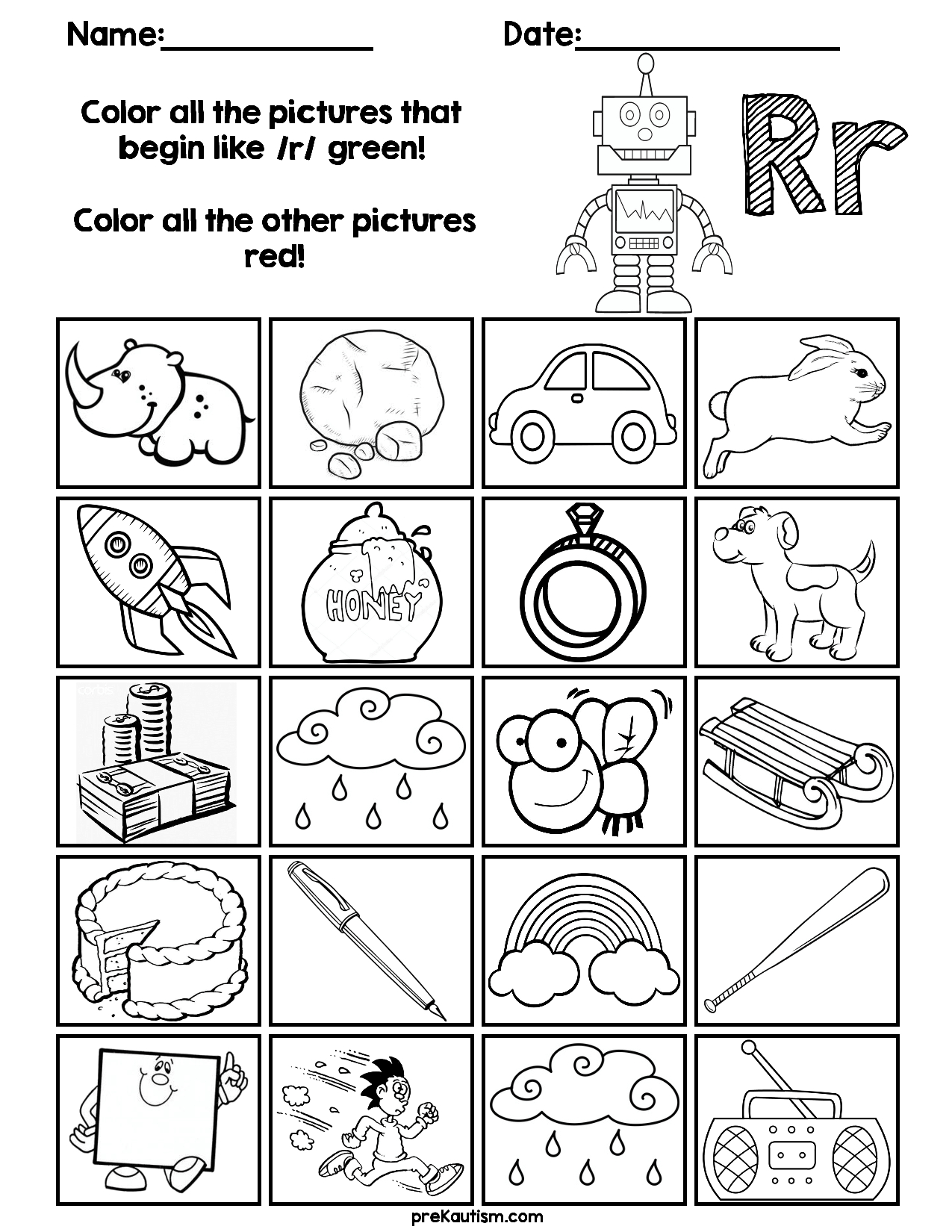 Find & Color Consonants Worksheets | Grade R Worksheets throughout Letter C Worksheets For First Grade