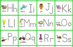 Grade R Alphabet Worksheets South Africa