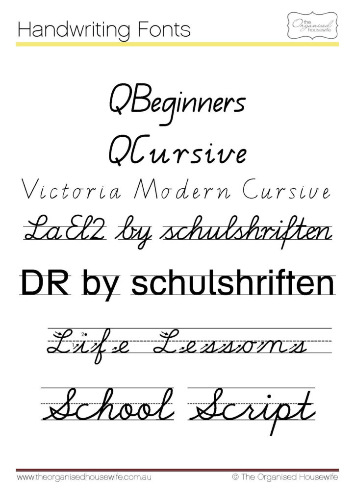 Fonts To Help Kids To Write + Qld Cursive | Teaching Cursive In Name Tracing Template Qld Font