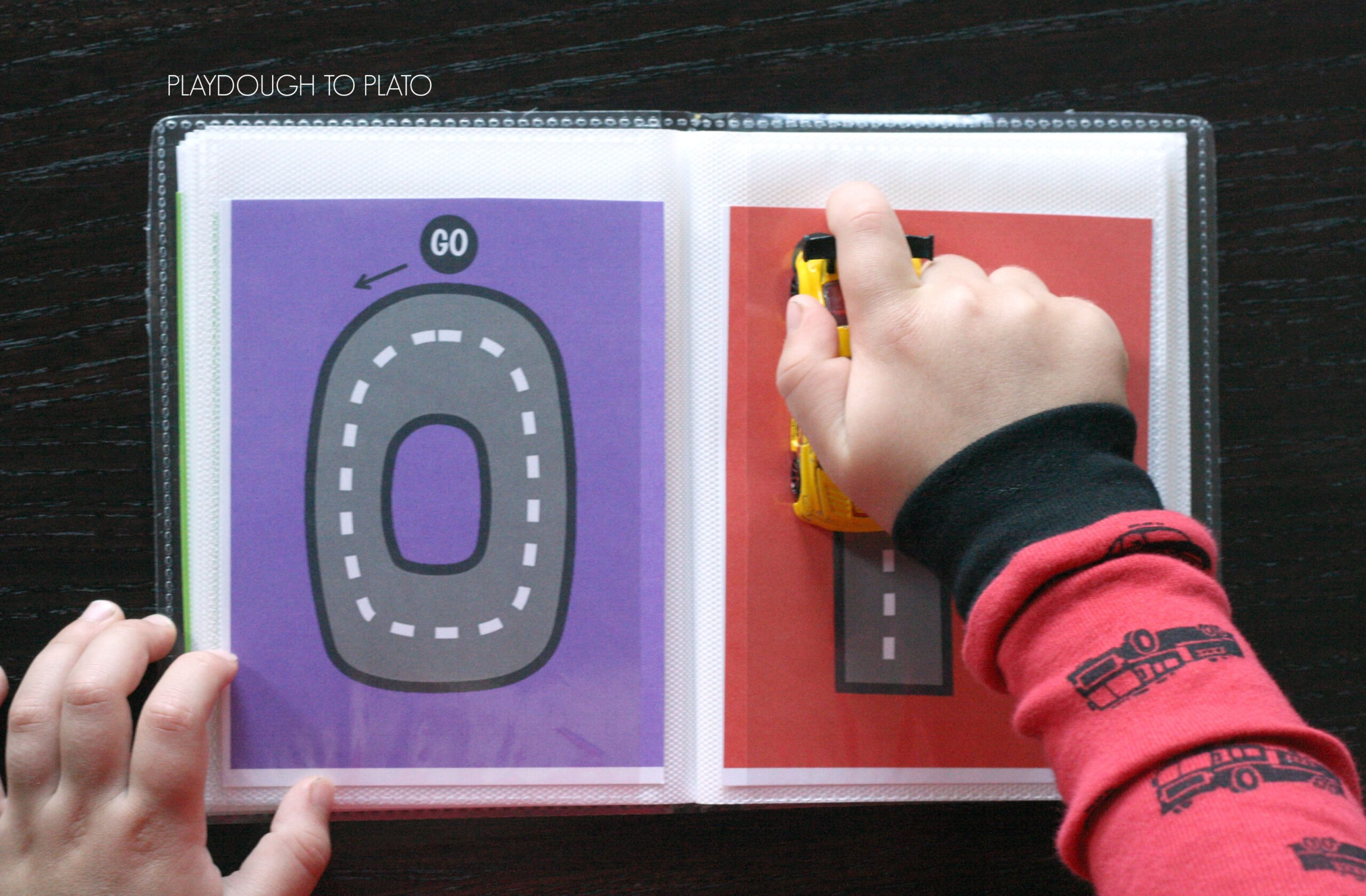 Free Letter Tracing Roads | Tracing Letters, Playdough To within Alphabet Road Tracing Book