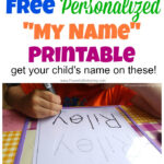 Free Name Tracing Worksheet Printable + Font Choices Intended For Name Tracing Dotted Lines
