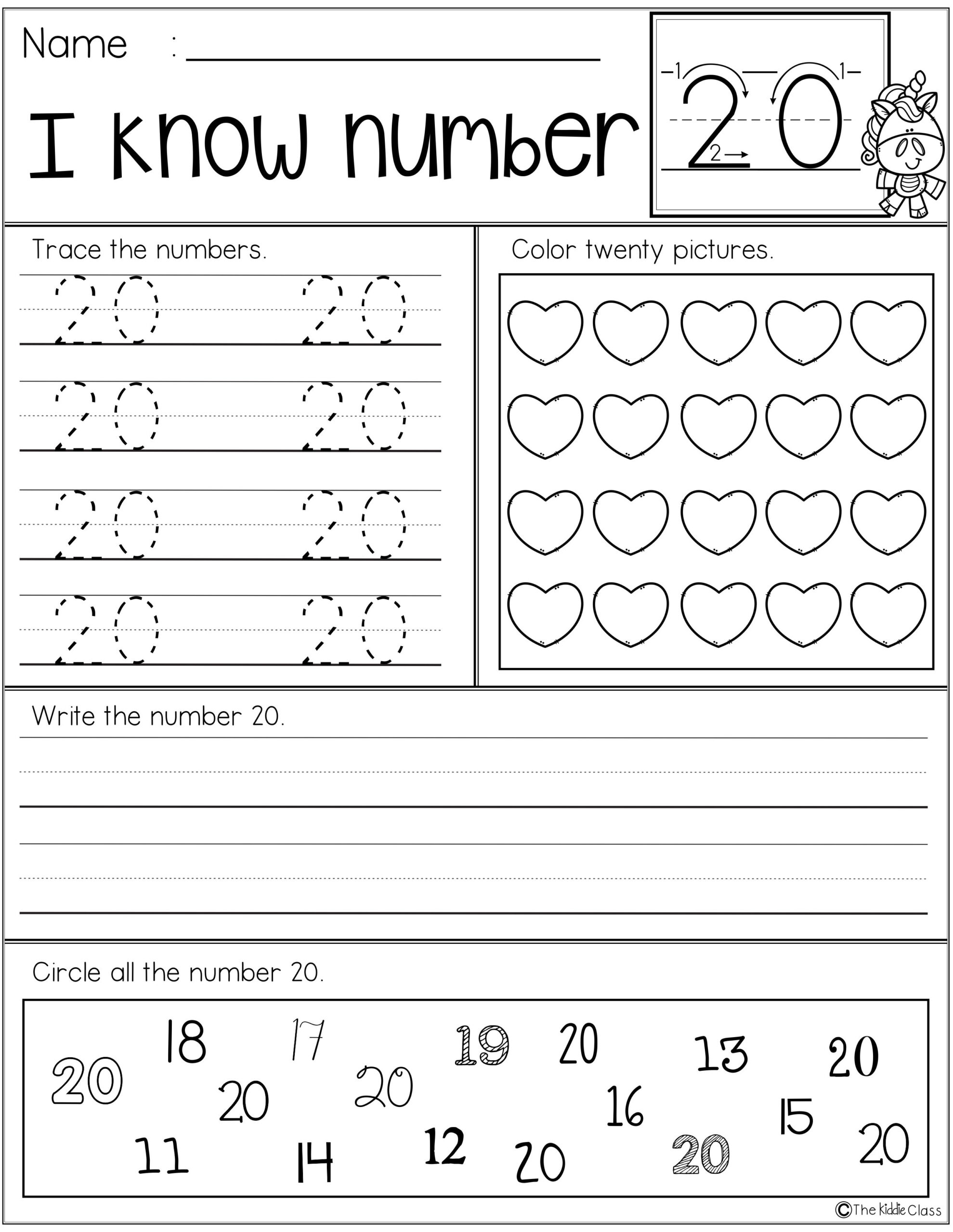 Free Number Practice Printables | Science Lessons Elementary in Tracing Name Layla