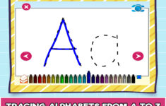 Alphabet Tracing Online Free
