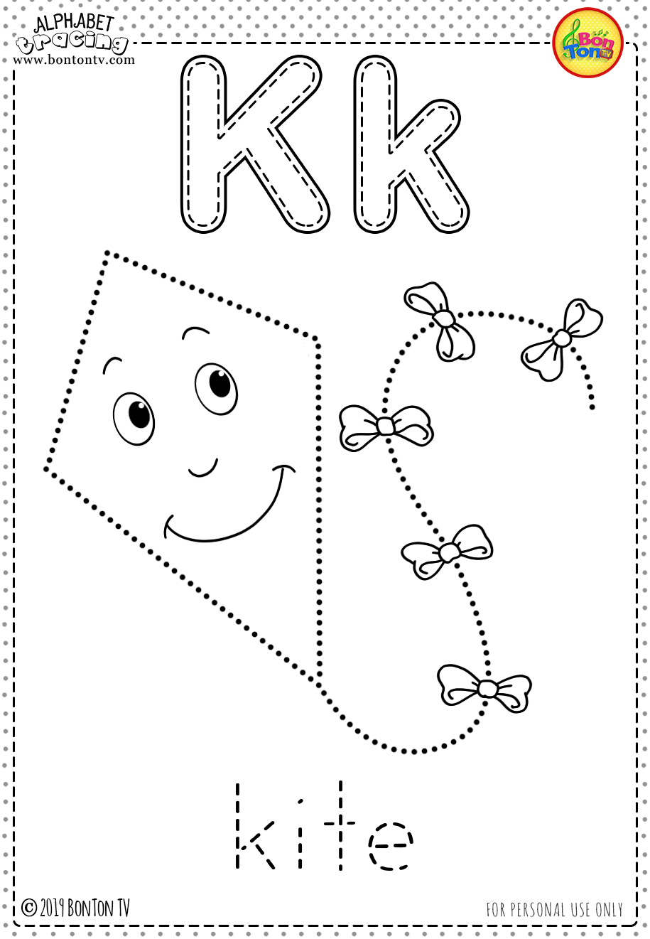 Free Preschool Printables - Alphabet Tracing And Coloring pertaining to Alphabet Tracing And Coloring Pages