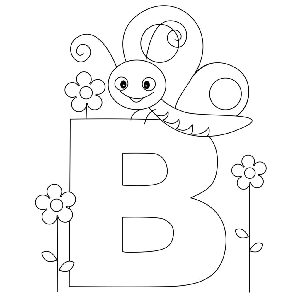 Free Printable Alphabet Coloring Pages For Kids   Best In Alphabet Worksheets Coloring Pages