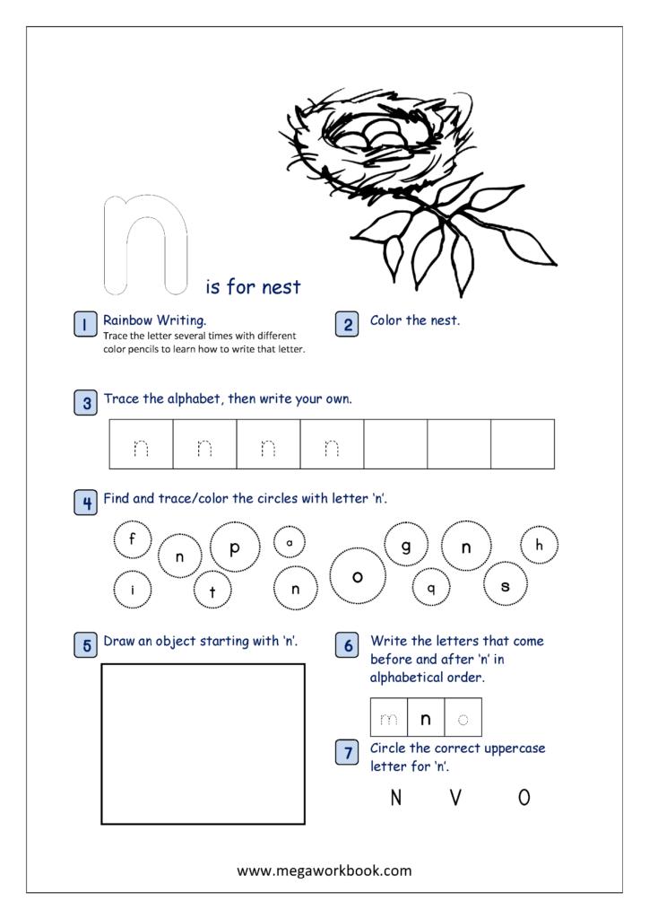 Free Printable Alphabet Recognition Worksheets For Small With Regard To Alphabet Recognition Worksheets