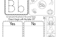 Letter B Worksheets Free Printables
