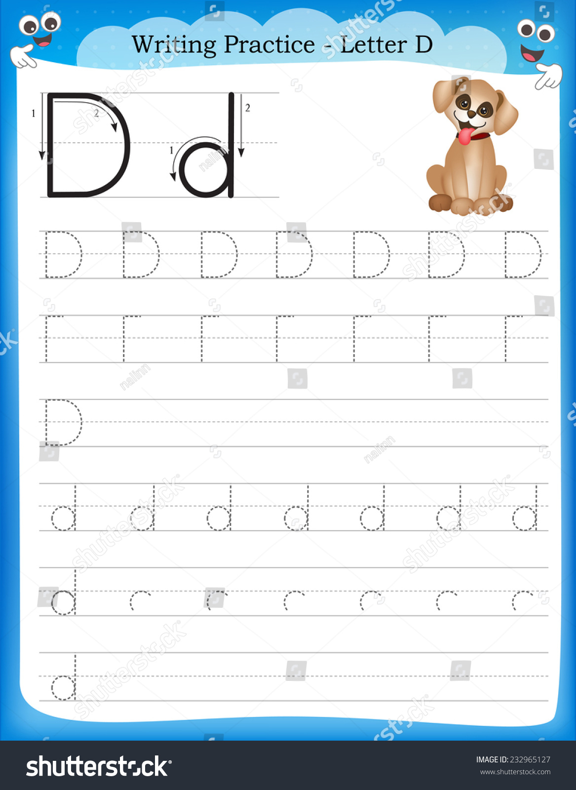 Free Printable Letter D Worksheets | Printable Worksheets with Letter D Worksheets Sparklebox