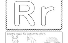 Letter R Worksheets Printable