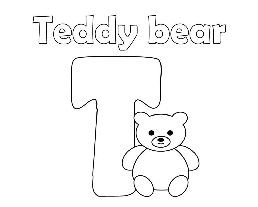 Free Printable Letter T Coloring Page For Kids Free Within Letter T Worksheets Sparklebox