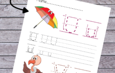 Alphabet Worksheets For Nursery