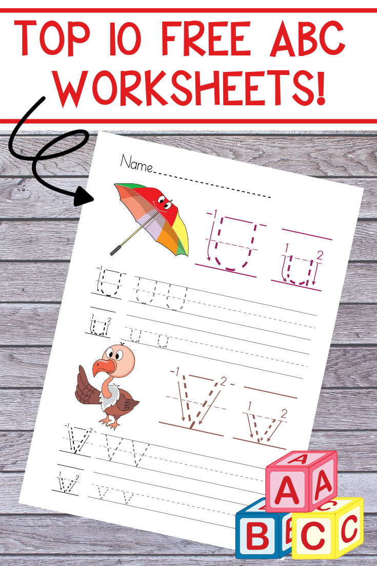 Free Printable Preschool Alphabet Worksheets - The Relaxed inside Alphabet Worksheets For Nursery