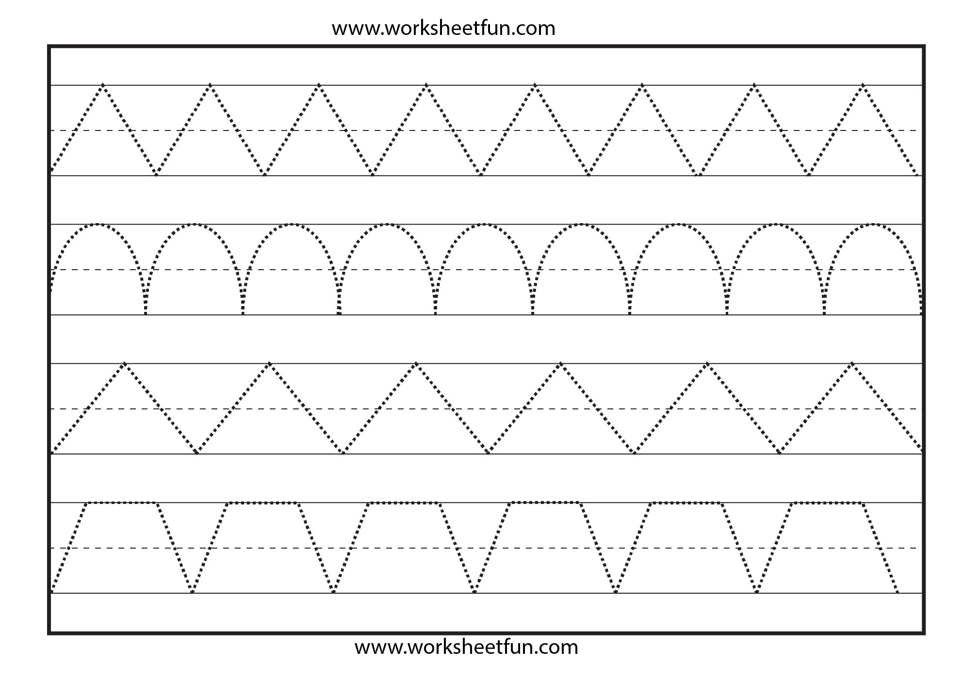 Free Printable Tracing Worksheets – Prnt for Name Tracing Worksheets Kindergarten
