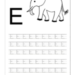 Free Printable Worksheets   Contents | Letter E Worksheets Intended For Letter E Worksheets For Nursery