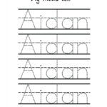 Free Traceable Names Tracing Name Templates Free Cursive Intended For Zachary Name Tracing