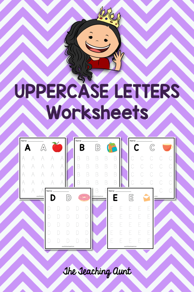 Free Uppercase Letters Tracing Worksheets (With Images With Letter Orientation Worksheets