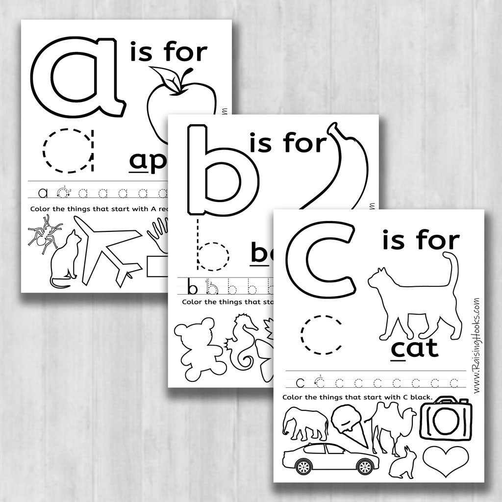 Fun Alphabet Learning Worksheets   Raising Hooks With Regard To Letter Learning Worksheets