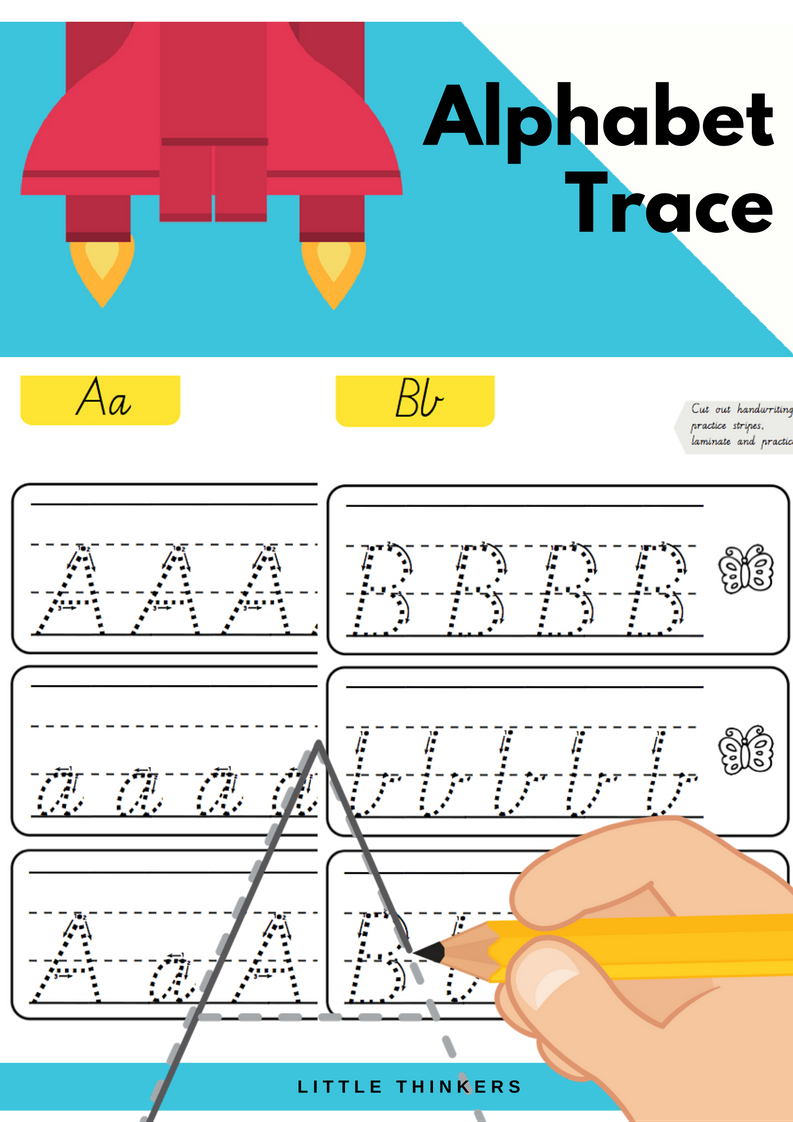 Handwriting Practice Strips - Victorian Modern Cursive within Alphabet Tracing Victorian Cursive