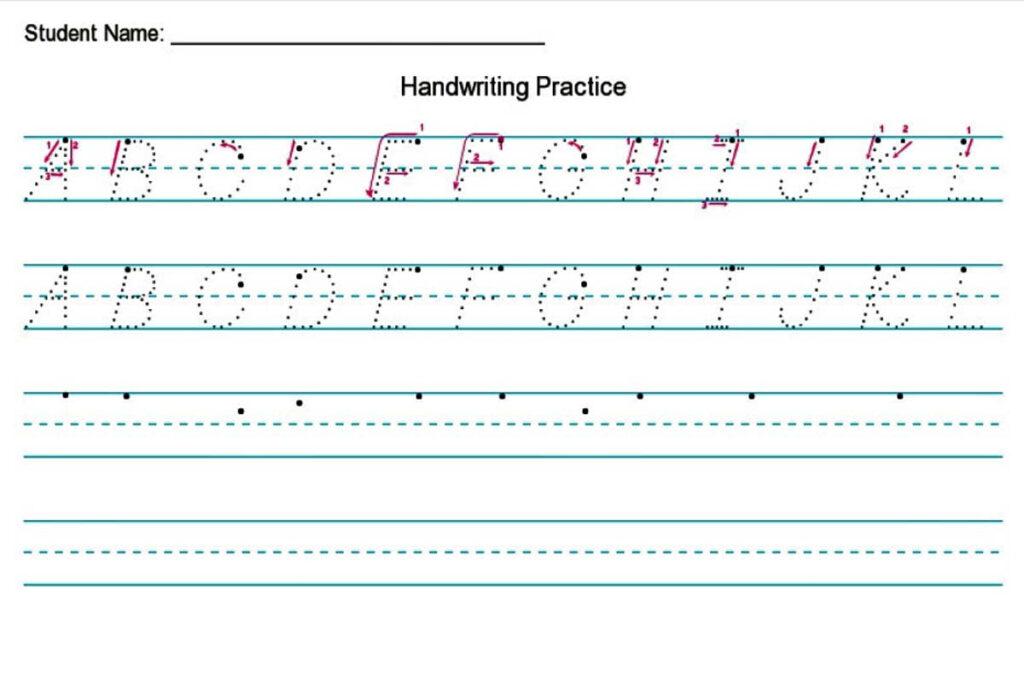 Handwriting Worksheet Creator {Free} — Diy Homeschooler Intended For Name Tracing Maker