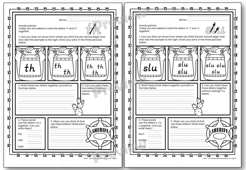 Handwriting Worksheet Joined Up | Printable Worksheets And Throughout Letter Join Worksheets
