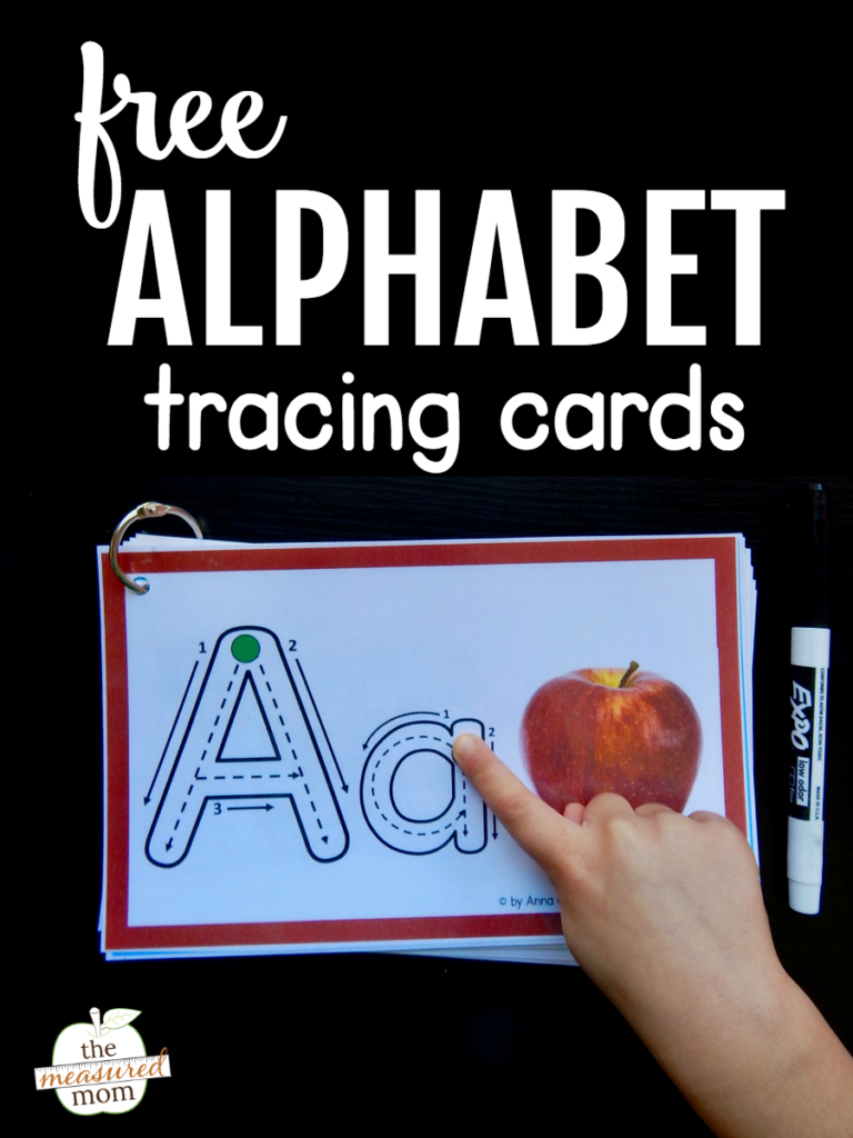Help Kids Remember Letters With This Free Alphabet Tracing With Regard To Alphabet Tracing Cards