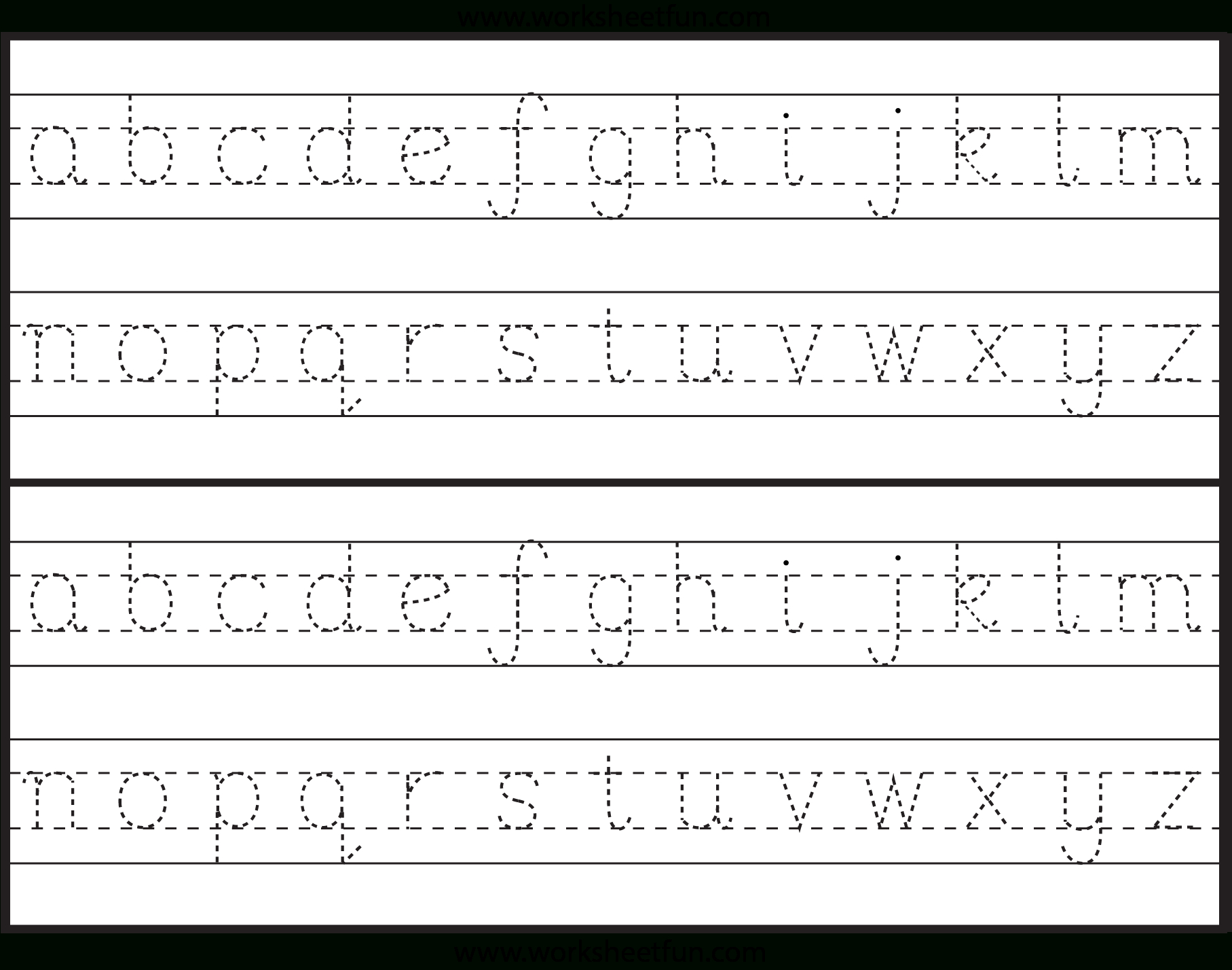 Here You Can Find Some New Design About Tracing The Alphabet within Alphabet Tracing Handwriting Worksheets
