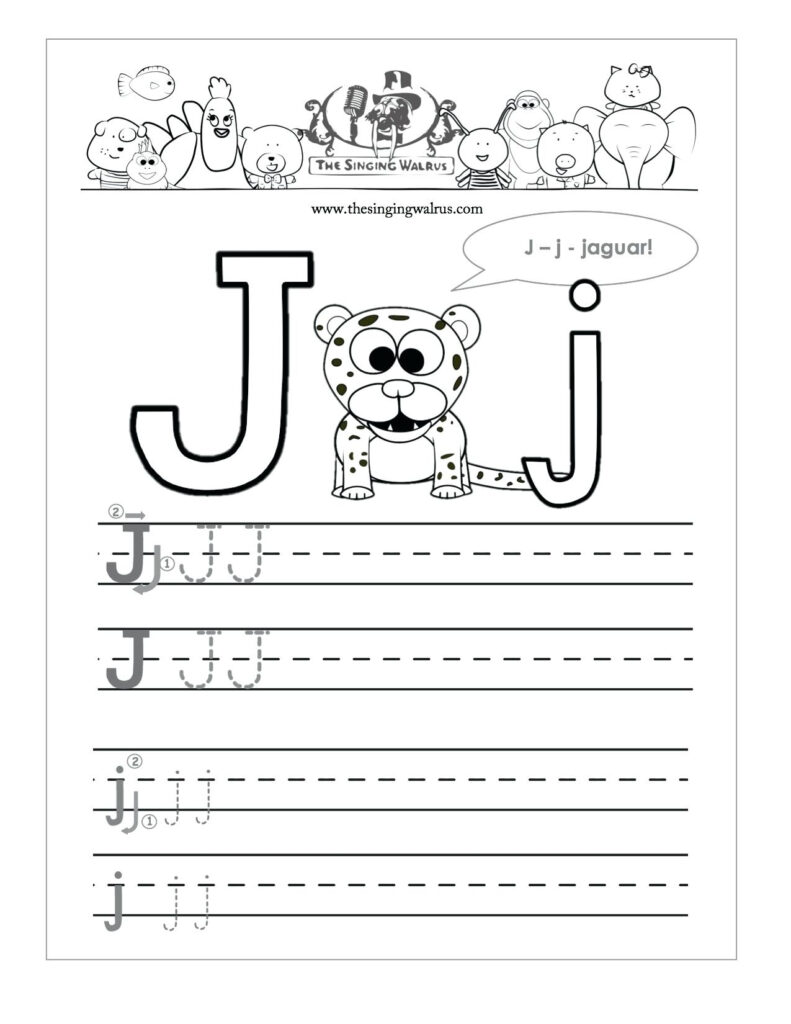 J In Cursive Writing Similar Images For Cursive Writing Pertaining To Letter J Worksheets For Prek