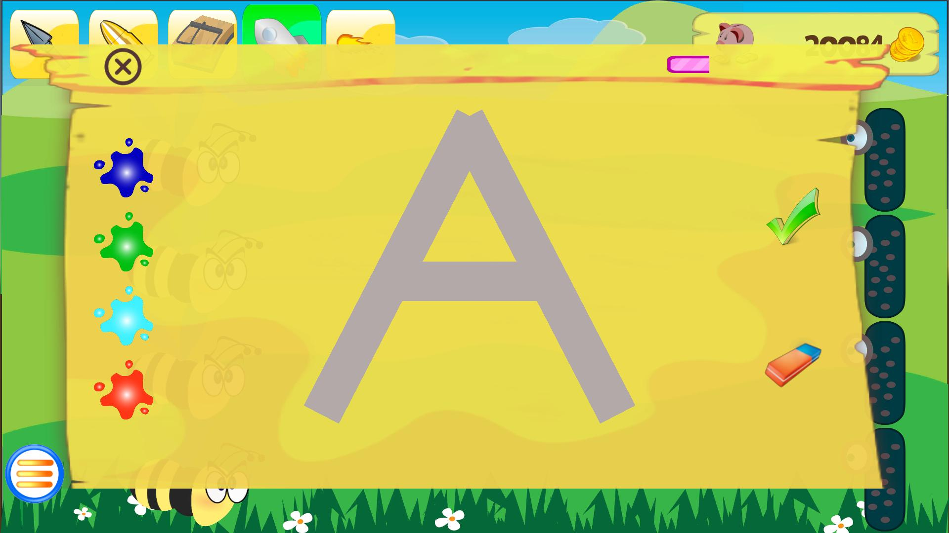 Kids Games - Letters Tracing For Android - Apk Download within Letter Tracing Games