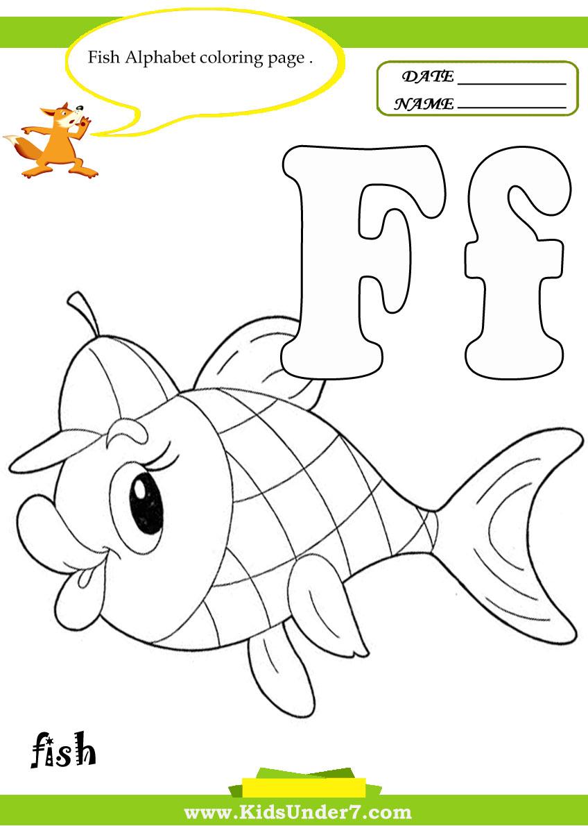 Kids Under 7: Letter F Worksheets And Coloring Pages throughout Letter F Worksheets Coloring
