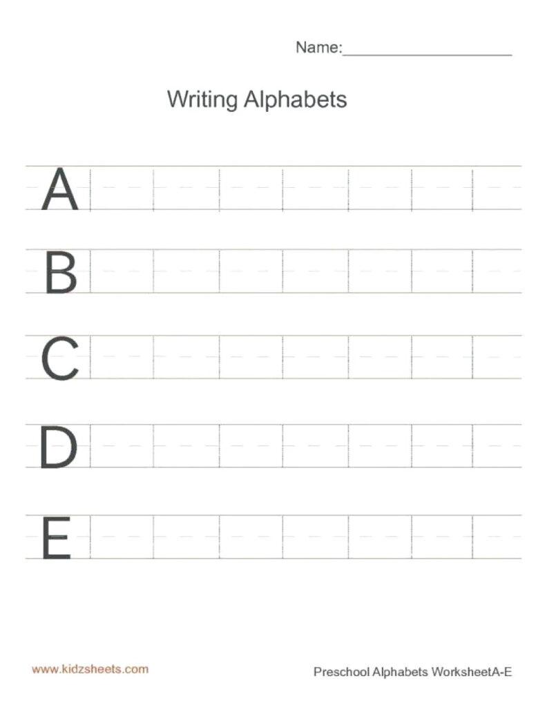 Kidzone Tracer Worksheet | Printable Worksheets And With Regard To Name Tracing Kidzone