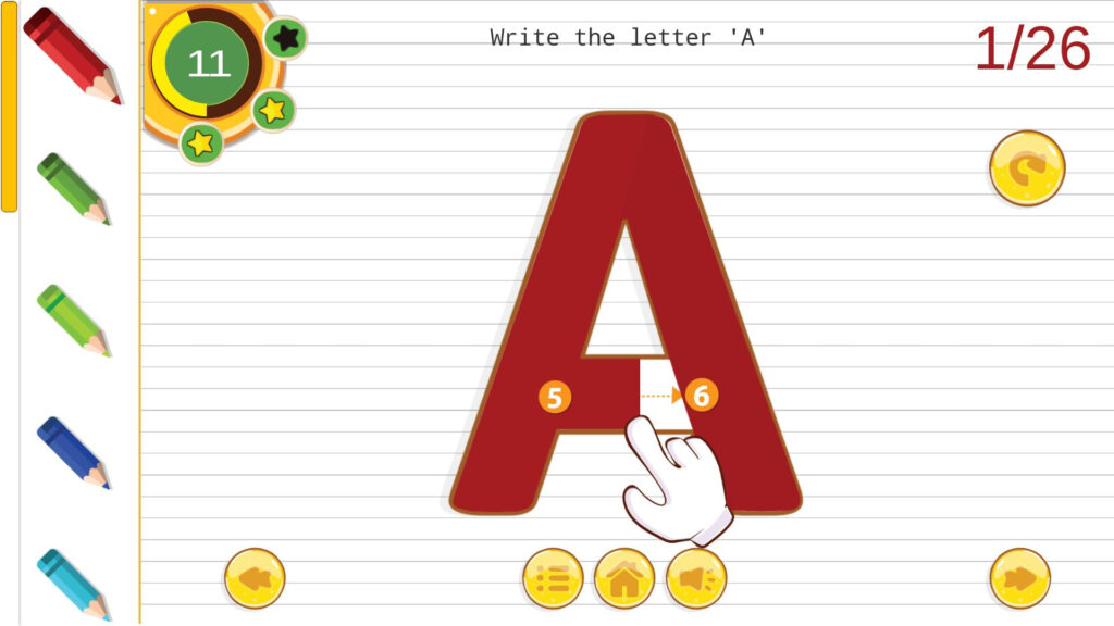 Kindergarten: Abc Alphabets Tracing ✍️🔤📖👶free🆕 For Pertaining To Alphabet Tracing Free App