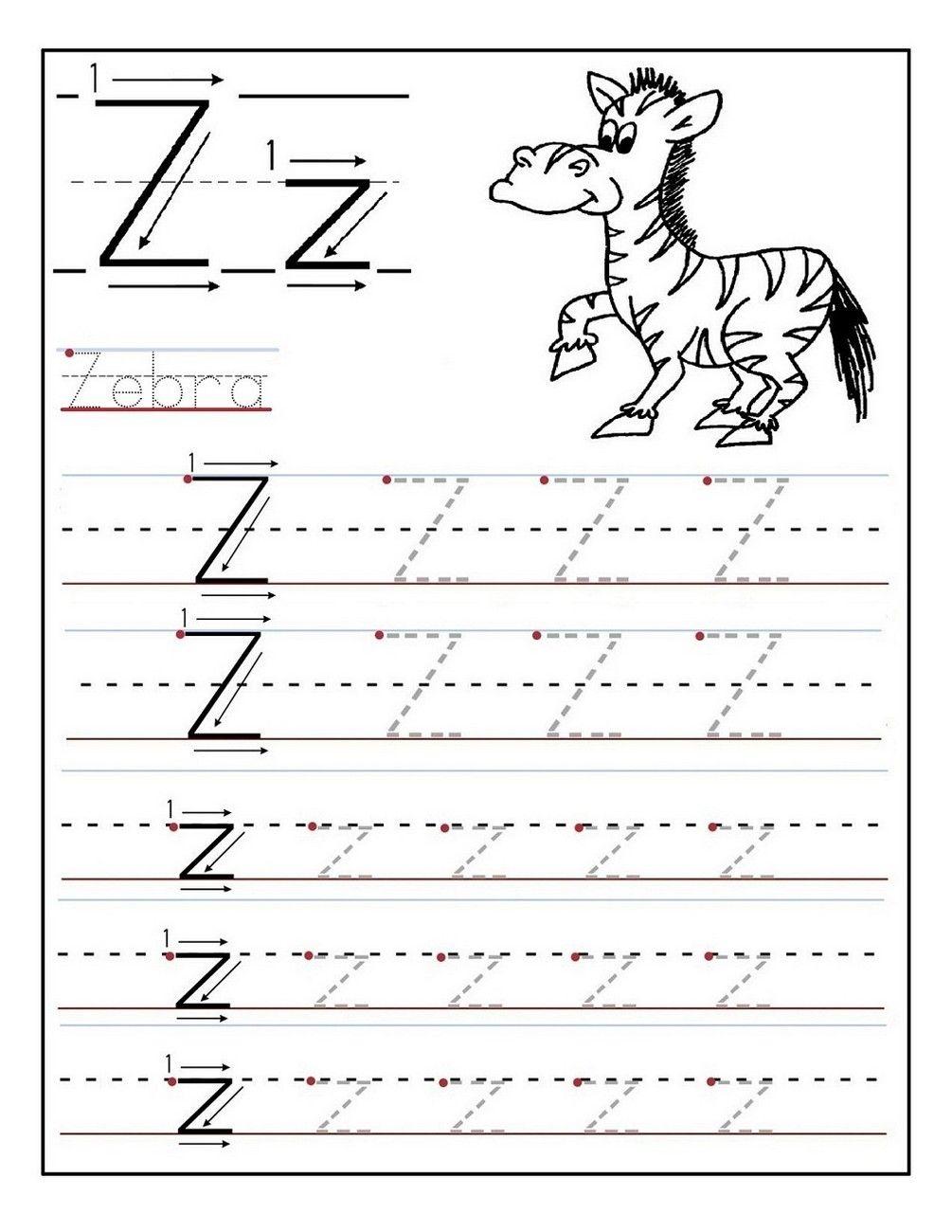 Kindergarten Letter Tracing Worksheets | Letter Tracing regarding Letter U Tracing Page