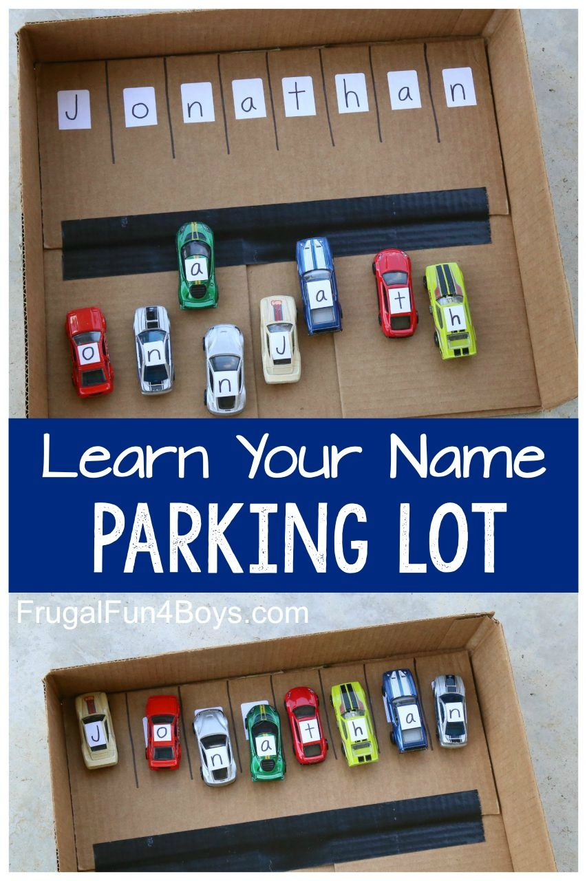 Learn Your Name With Hot Wheels Cars In 2020 | Car with Jonathan Name Tracing