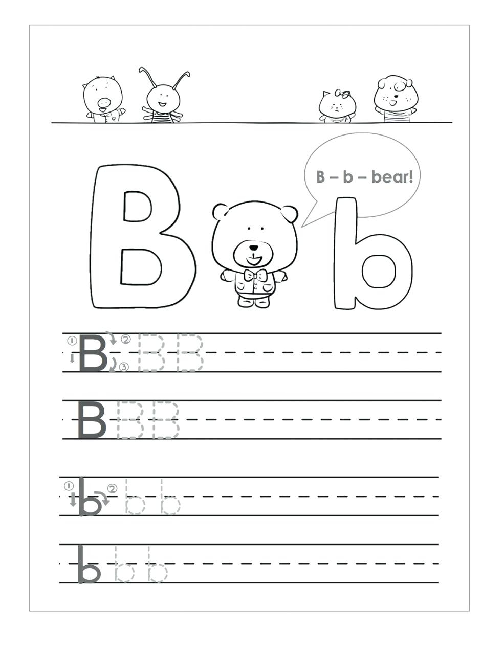 Letter B Worksheets To Printable. Letter B Worksheets within Letter B Worksheets For 3 Year Olds