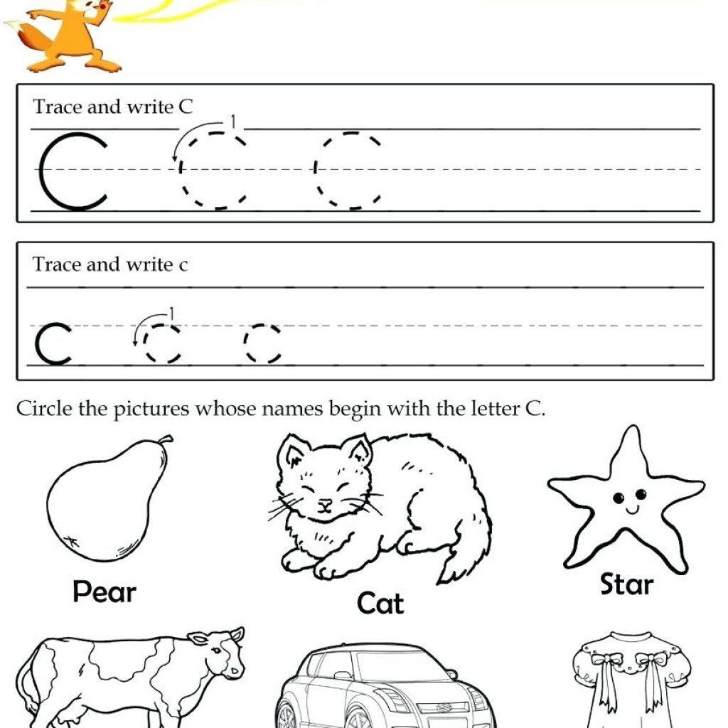 Letter C Worksheets For Free Download. Letter C Worksheets Inside Letter C Worksheets For Preschool Pdf