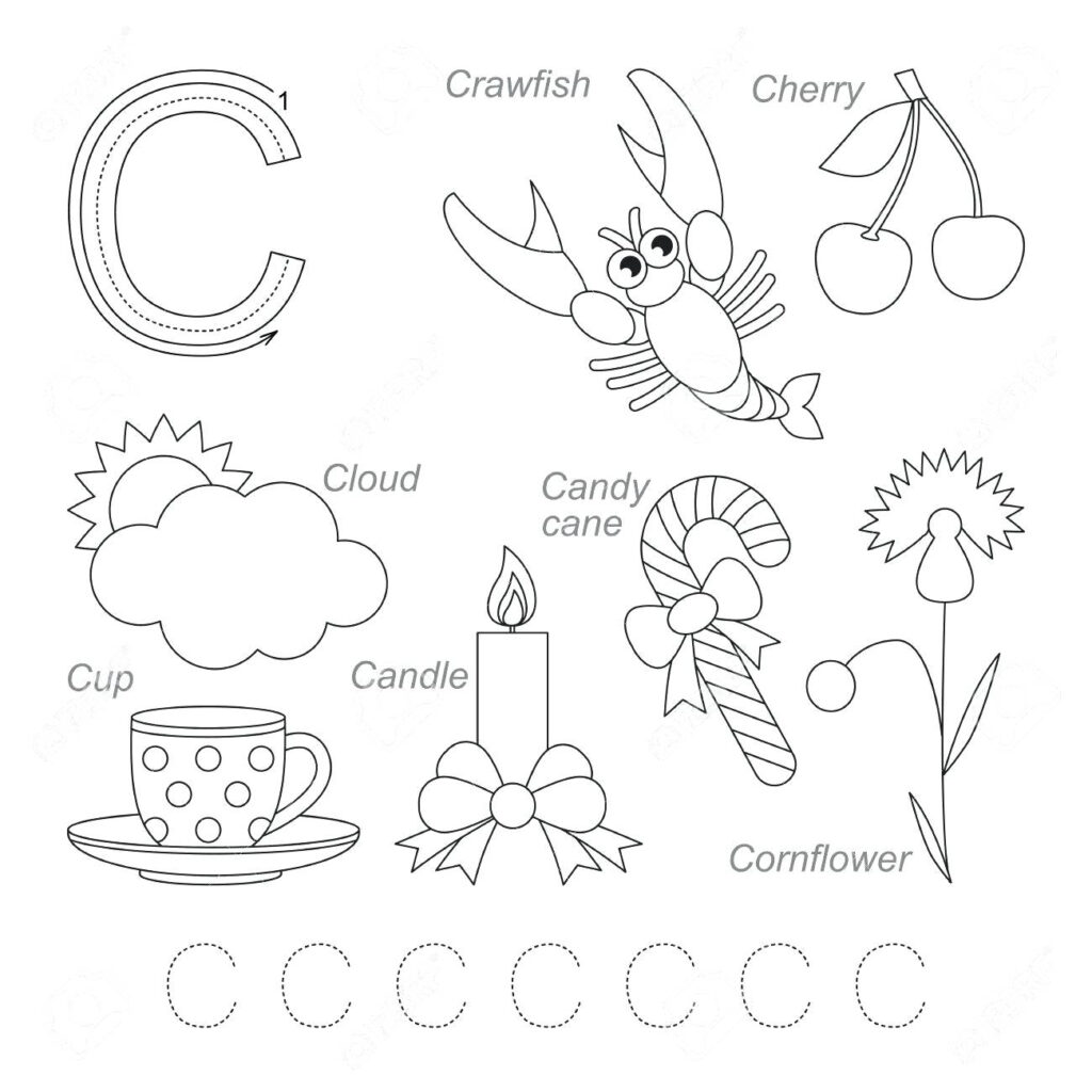 Letter C Worksheets For Learning. Letter C Worksheets   Misc With Regard To Letter C Worksheets For Grade 1